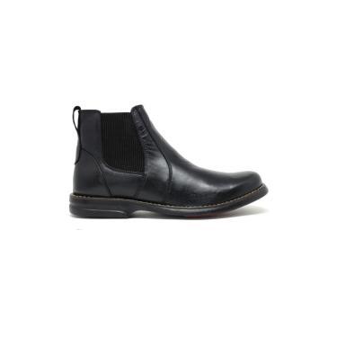 Bota Confort Sandalo Preto  masculino