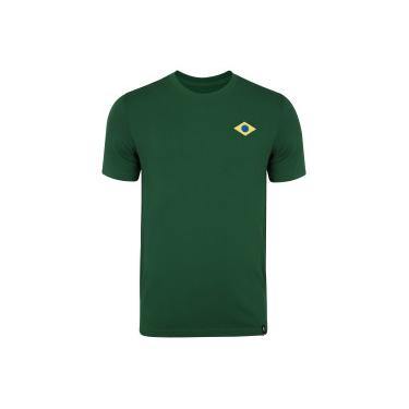 Camiseta do Brasil Nike Travel - Masculina Nike Masculino