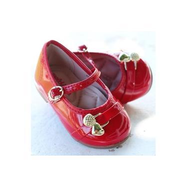 Sapatilha Molekinha Vermelho Infantil 2106-1001-6452