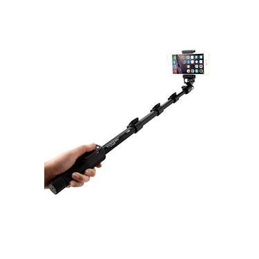 Bastão Profissional Pau de Selfie Câmera E Celular + Controle