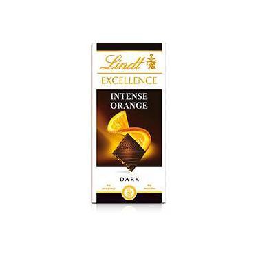 Tablete Excellence Intense Orange Dark Chocolate 100g - Lindt