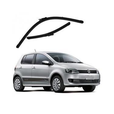 Kit Palhetas Limpador de Parabrisa Dianteiro VW Volkswagen Fox Ano 2013 - Atual