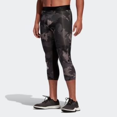 Legging Alphaskin Camo 3/4 Homem M adidas