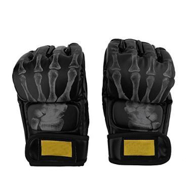 Luvas de caixa, meia dedo lutando boxe MMA Sparring Glovers para esportes