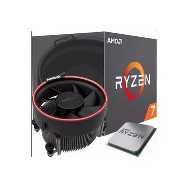 Processador AMD Ryzen 7 1700 3.0GHz (3.7GHz Turbo), 8-Cores 16-Threads, Cooler Wraith Spire com Led, AM4 YD1700BBAEBOX, S/ Video