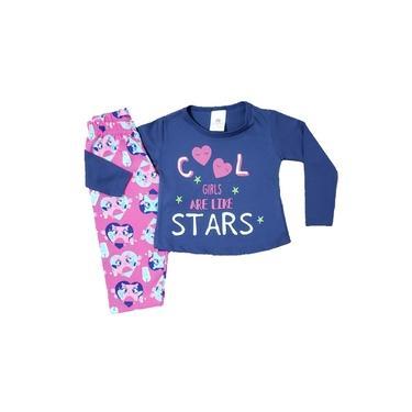 Pijama Malha Bebê Feminino