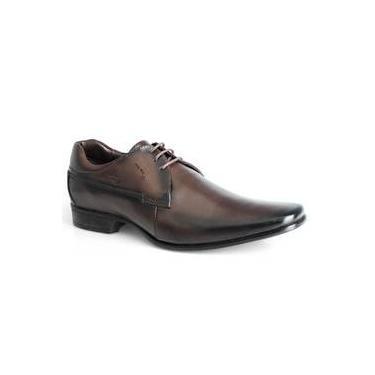 db0e0b95e2 Sapato Em Couro Rafarillo Orlando 79114-01 Castanho