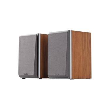 Caixa de Som Edifier com Dupla Entrada RCA, 24W, Madeira - R1000T4