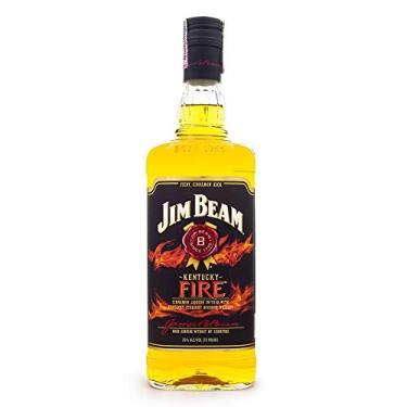 Jim Beam Fire - Licor de Bourbon e Canela 1L