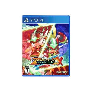 Mega Man Zero/Zx Legacy Collection - Jogo PS4 (Pacote com 6 Jogos)