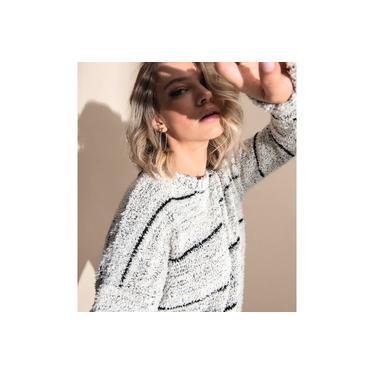 Suéter Feminino em Tricô Endless Bege