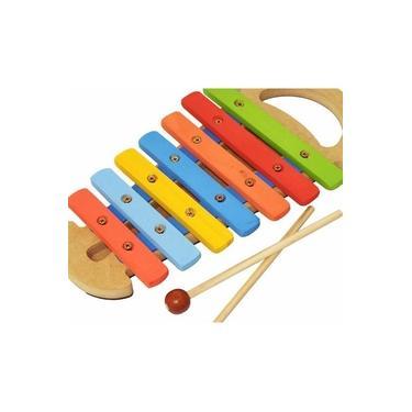 Imagem de Xilofone Infantil Musical Instrumento Com Alça Kids