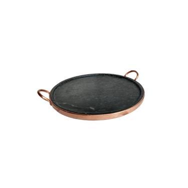 Imagem de Forma de pizza de 37 cm de pedra sabão