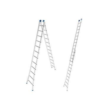 Imagem de Escada de Alumínio Extensiva 2 x 12 Degraus 3,65 x 6,17 Metros MOR