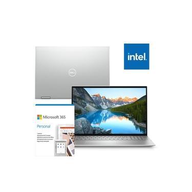 "Imagem de Kit Notebook 2 em 1 Dell Inspiron 5406-OS20SF 14"" Touch 11ª Ger Intel Core i5 8GB 256GB SSD Windows 10 Microsoft 365"