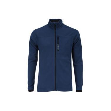 Jaqueta de Frio Fleece adidas Tivid - Masculina - AZUL ESCURO adidas 94e55dd8616