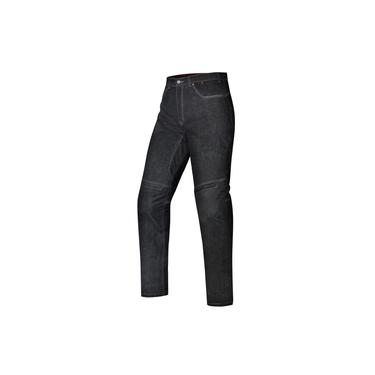 Calça Jeans Feminina Ride X11 Preta Moto Com Proteção