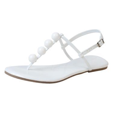 Sandália Rasteira Mercedita Shoes Verniz Branco Bola Ultra Macia Neon Amarelo, Neon Pink, Neon Laranja feminino