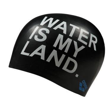 Touca de Natação Poolish Moulded Arena - Black Water