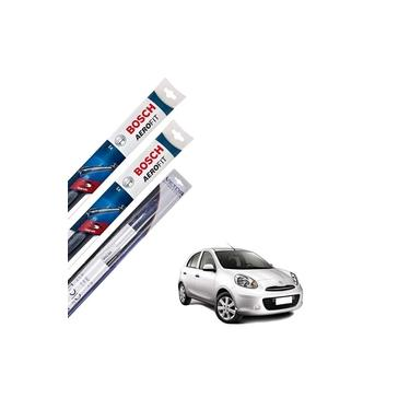 Kit Palheta Dianteira E Traseira Nissan March 2012 Em Diante