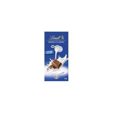 Chocolate Suiço Ao Leite Lindt Swiss Classic 100g
