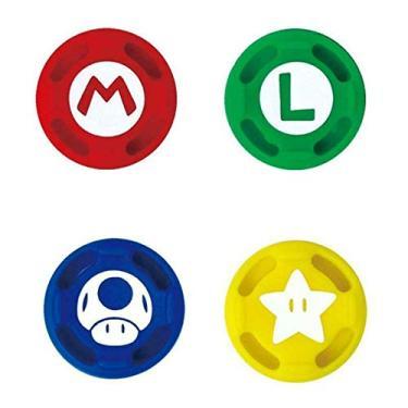 4 x tampas de silicone para polegar com aderência Joystick, tampas analógicas para Nintendo Switch NS Joy Con Nintendo Switch Lite