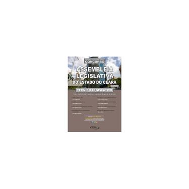 Imagem de Apostila Técnico Legislativo alce - Assembleia Legislativa do Ceará (2 vols) 2020