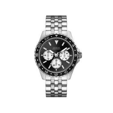 325a93f43a8 Relógio masculino GUESS prateado multifunção 92698G0GSNA1