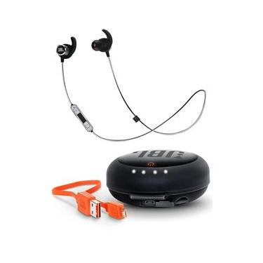 Fone Ouvido Jbl Reflect Mini 2 Bluetooth + Case Carregador