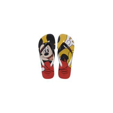 Imagem de Chinelo Havaianas Licenciado Disney Stylish 37/8 Vermelho