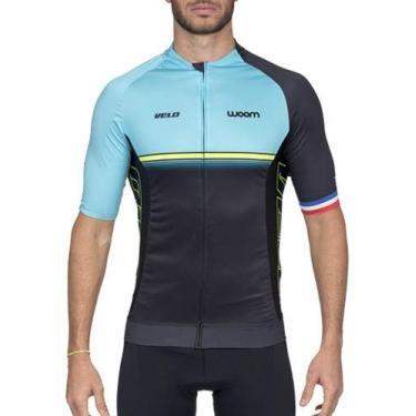 Camisa De Ciclismo Woom Supreme Velo Masculina Coleção 2020