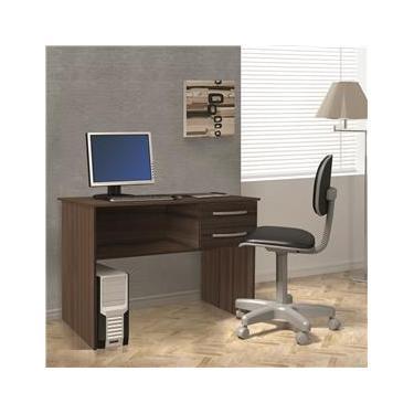 Escrivaninha Casa D Work com 2 Gavetas