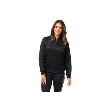 Jaqueta Feminina Bomber em Moletom Texturizada Mormaii 325900020