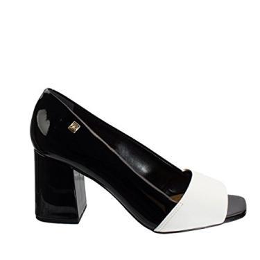Sapato Peep Toe Loucos e Santos Snake L21120016 A02