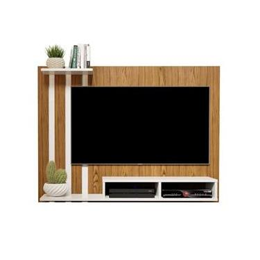 Painel Para Tv de 48 Polegadas Dubai Nature / Off White - Mania de Móveis