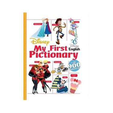 Livro Disney - My First Pictionary