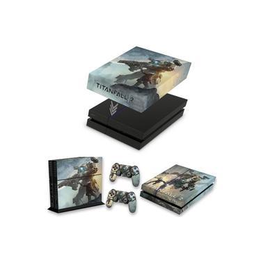 Capa Anti Poeira e Skin para PS4 Fat - Titanfall 2 #A