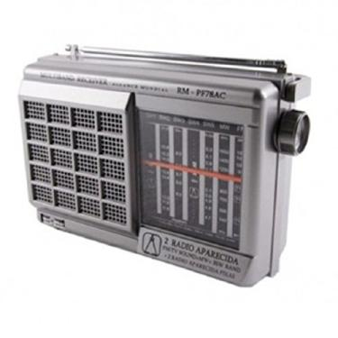Rádio Portátil 7 Faixas F78AC/T74AC - Motobras