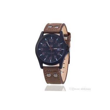7966d4b8339 Relógio Masculino Pulso Soki Leisure Series Analógico-Marrom