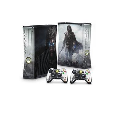 Skin Adesivo para Xbox 360 Slim - Middle Earth: Shadow Of Mordor