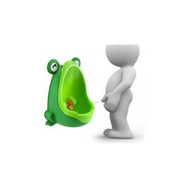 Mictório Infantil Sapinho Troninho Penico verde - Ricmic