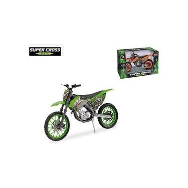 Imagem de Moto Super Cross Sxt Usual Brinquedos  Miniatura 1/16
