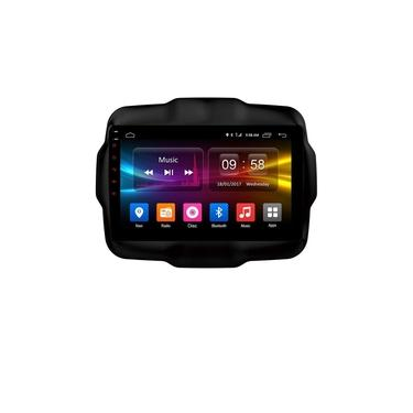 Central Multimídia Jeep Renegade S300 Android 8.1 Octa Core