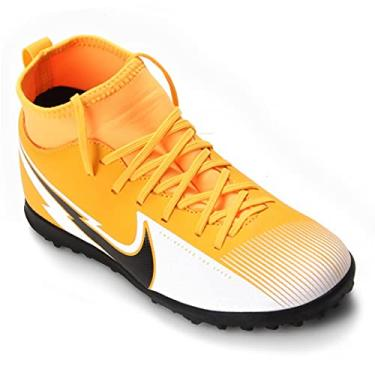 Imagem de Chuteira Society Nike Jr Mercurial Superfly 7 Club TF - Laranja