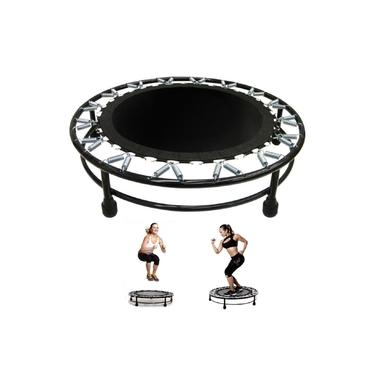 Trampolim Jump Aro Reforço 32 Molas Cama Elástica Exercícios Academia Suporta Até 150kg
