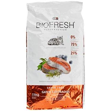 Ração Hercosul Biofresh para Gatos Castrados, Sabor Carne 7,5kg