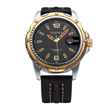 df66245bb65 Relógio Curren Analógico 8104 Preto masculino