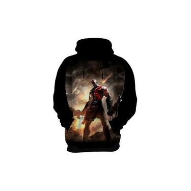 Blusa De Frio Moletom Agasalho God Of War 4 Kratos Game Hd 2