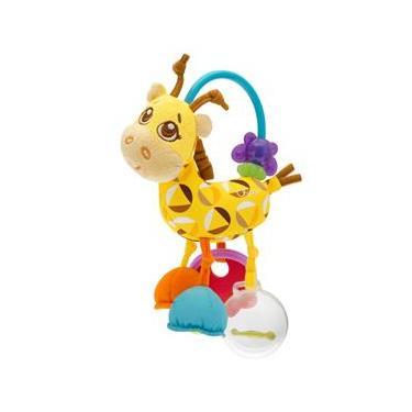Imagem de Chocalho Chicco 4ver Friends Girafa Primeiras Atividades - Colorido