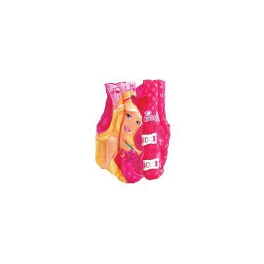 Imagem de Colete Inflável de Praia Barbie Fashion Rosa - Fun Toys